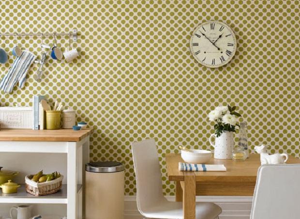retro wallpaper home