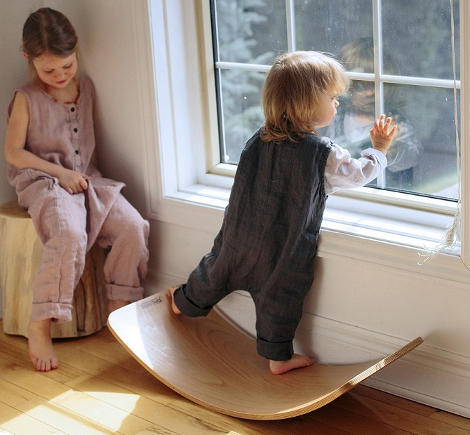 Wooden-Wobble-Board
