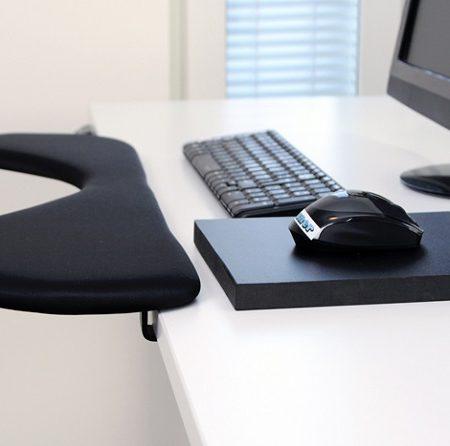 ergonomic forearm rest