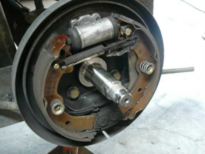 brake shoe parts