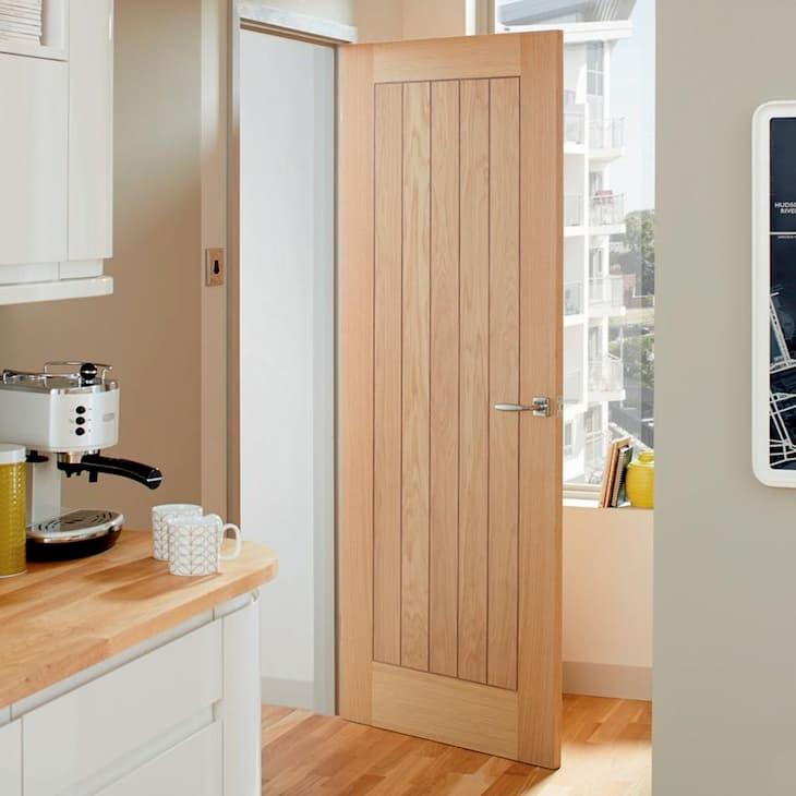 oak internl door