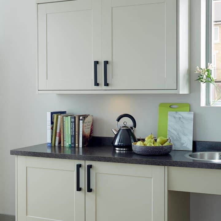matt black knobs for kitchen