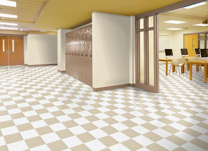 Linoleum-tiles-for-school