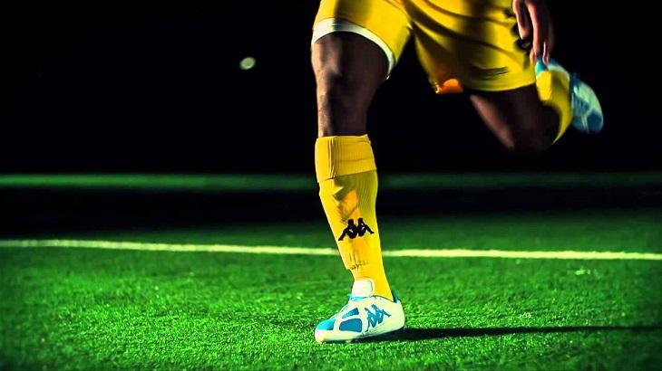 yellow football kappa socks