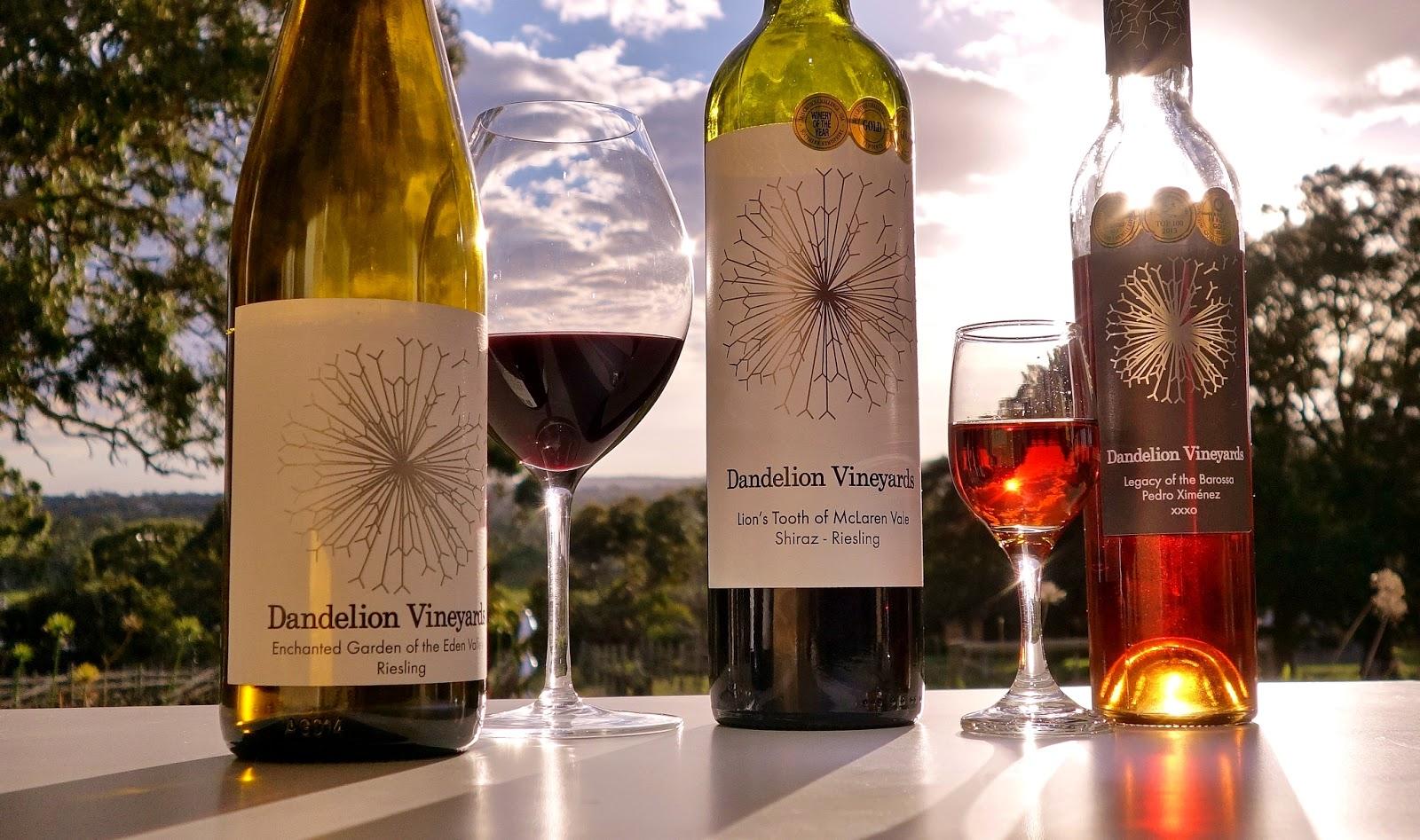 botshot - dandelion riesling wine