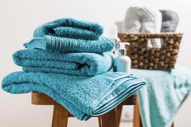 blue pima cotton bath towels